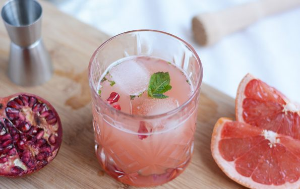 Granatapfel-Grapefruit-Cocktail: DIY   we love handmade