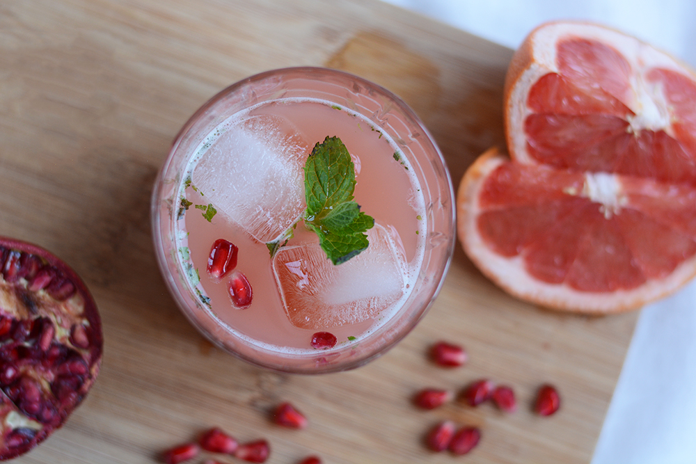 Granatapfel-Grapefruit-Drink: Rezept | we love handmade