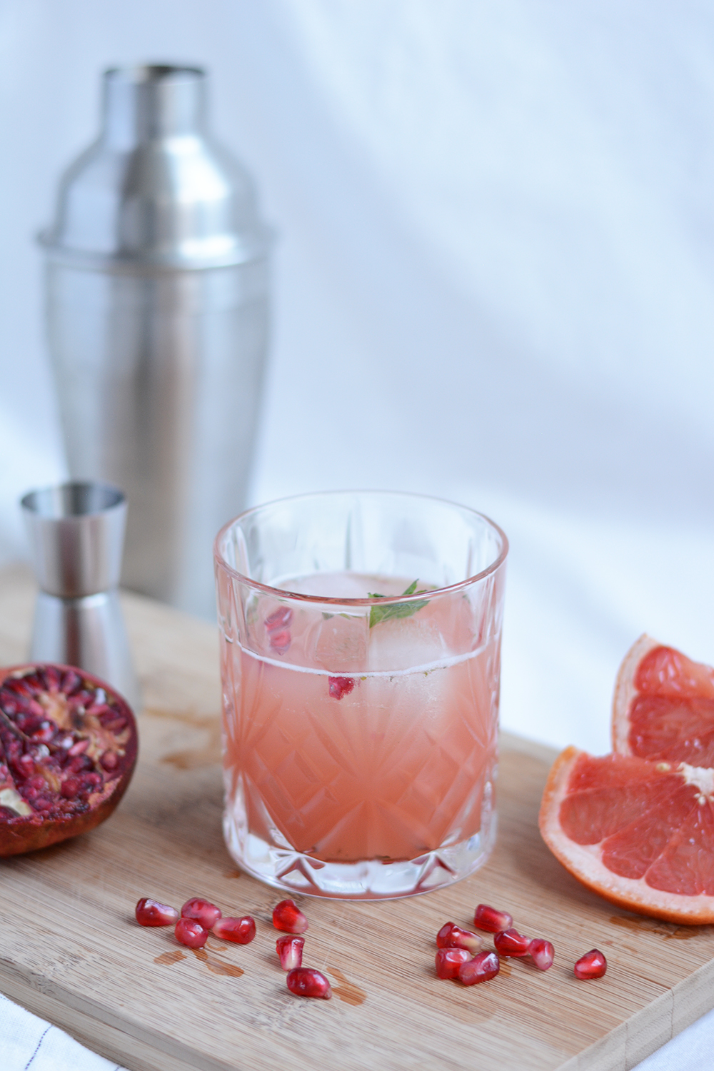 Granatapfel-Grapefruit-Drink | we love handmade