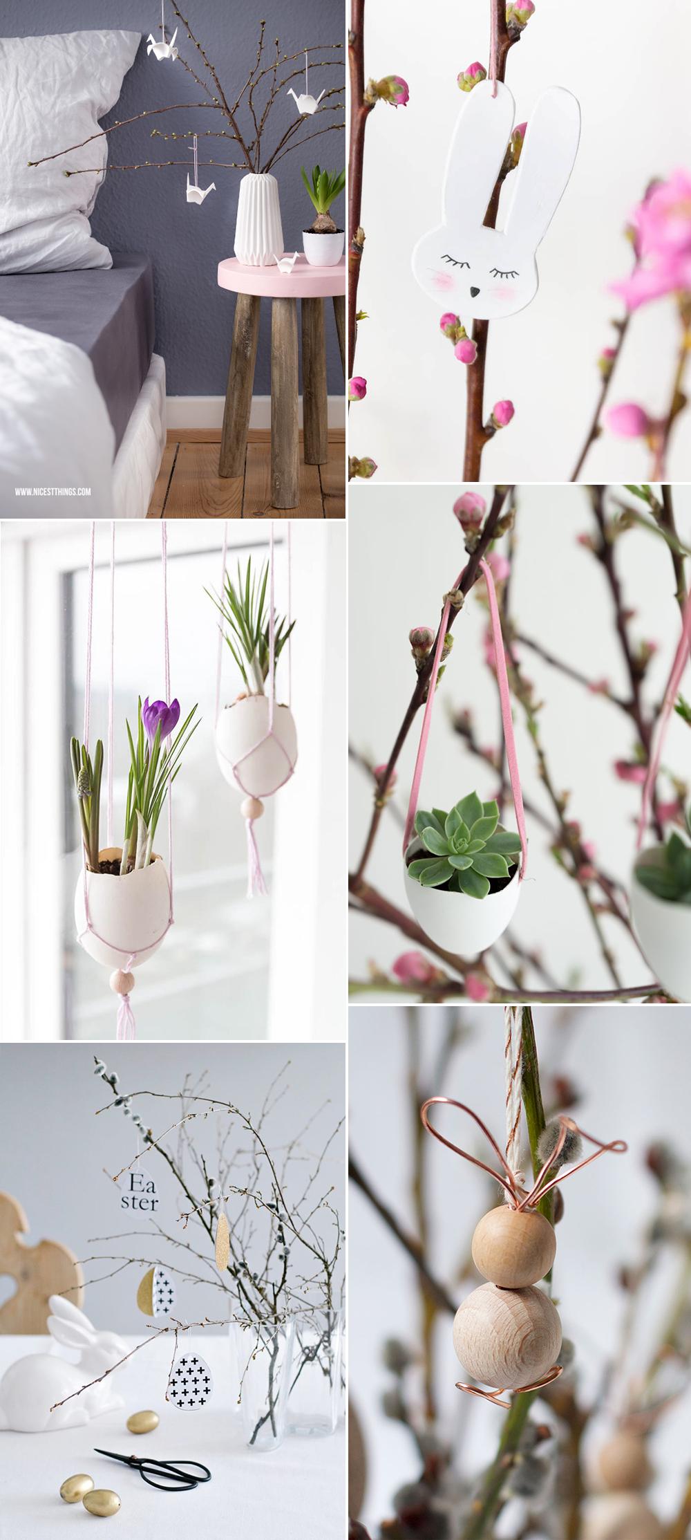 Osterstrauch-Deko | we love handmade