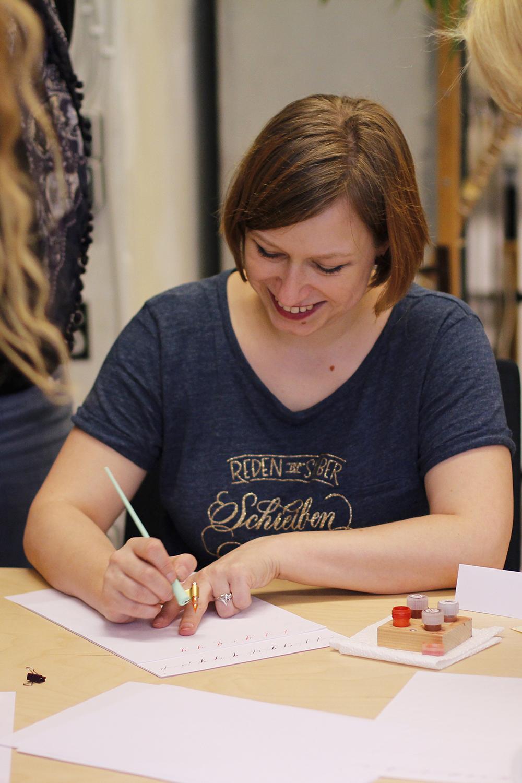 Tintenfuchs: Kalligraphie-Workshop | we love handmade