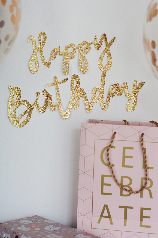 Geburtstagsbanner DIY plus Freebie | we love handmade