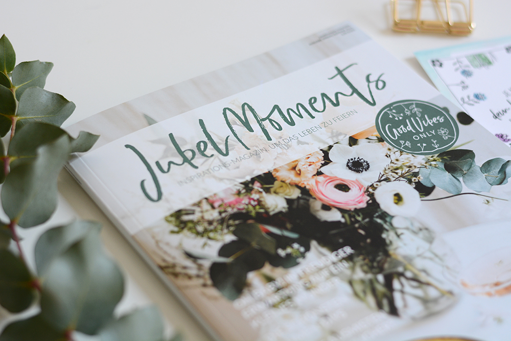 Jubelmoments Ausgabe: Feature | we love handmade