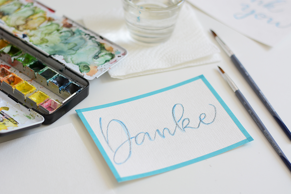 Muttertags-DIY: Dankeskarte | we love handmade