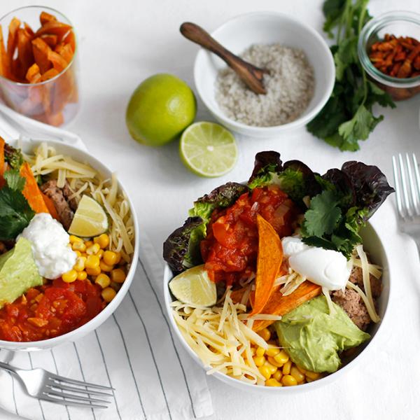 Rezept: Burrito Bowl vegetarisch | we love handmade