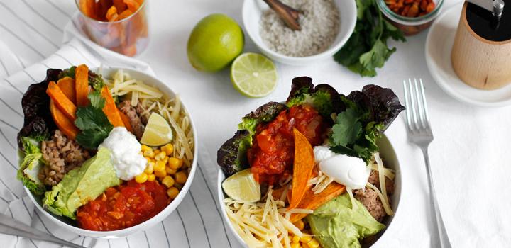 Rezept: Vegetarische Burrito Bowl
