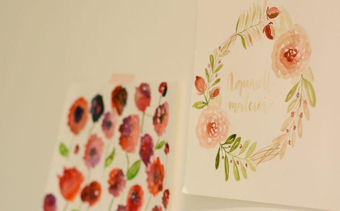 Aquarellmalerei DIY-Workshop | we love handmade