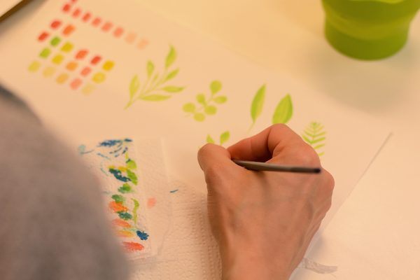 Aquarellmalerei-Workshop: Blumen | we love handmade