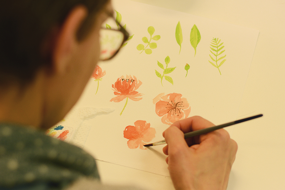 Aquarellmalerei Workshop Wien | we love handmade
