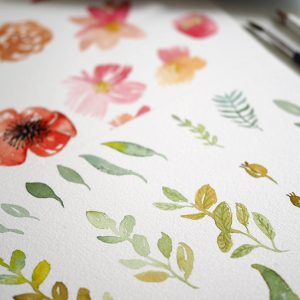 Aquarellmalerei Workshop Wien | we love handmade