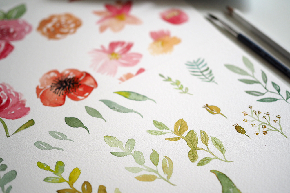 Aquarellmalerei Workshop Wien |we love handmade