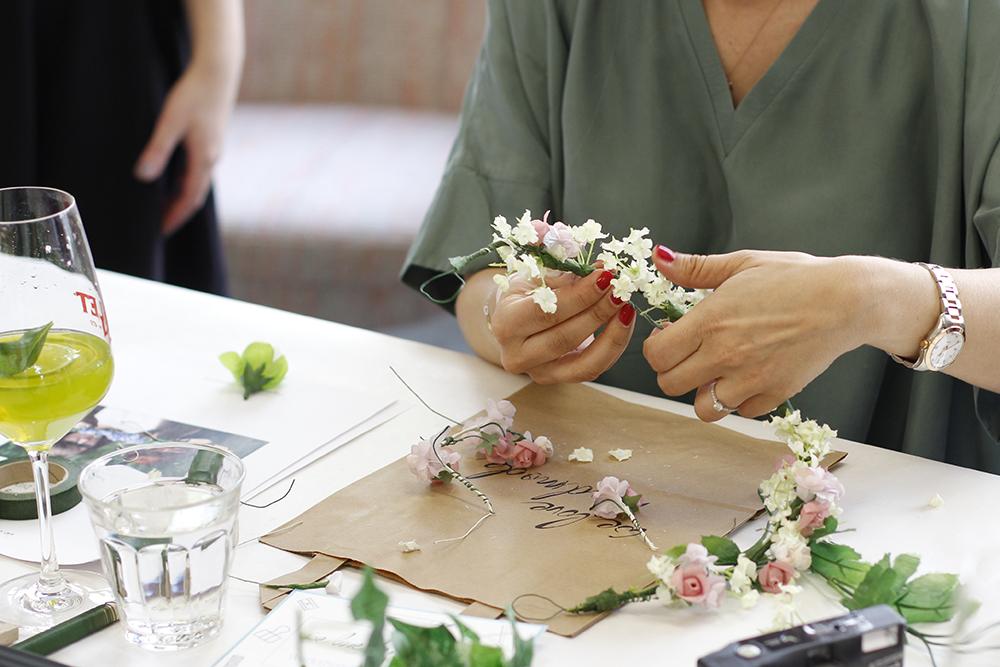 Blumenkränze binden WS |we love handmade