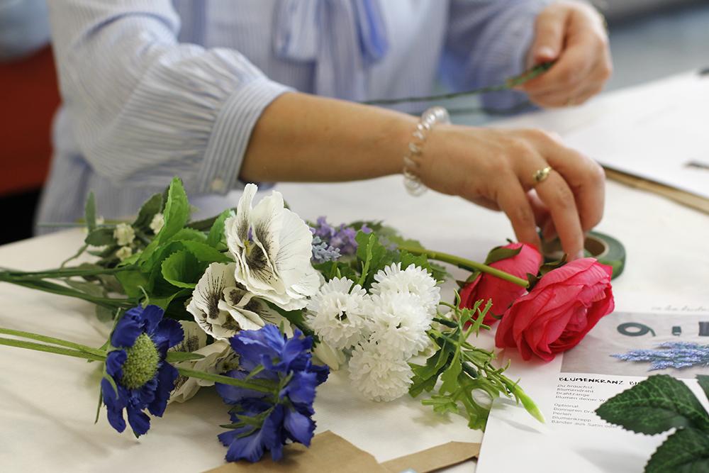 Blumenkränze binden | we love handmade