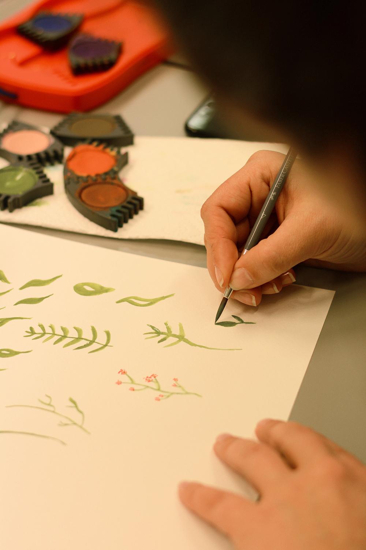 DIY-Workshop: Aquarellmalerei | we love handmade