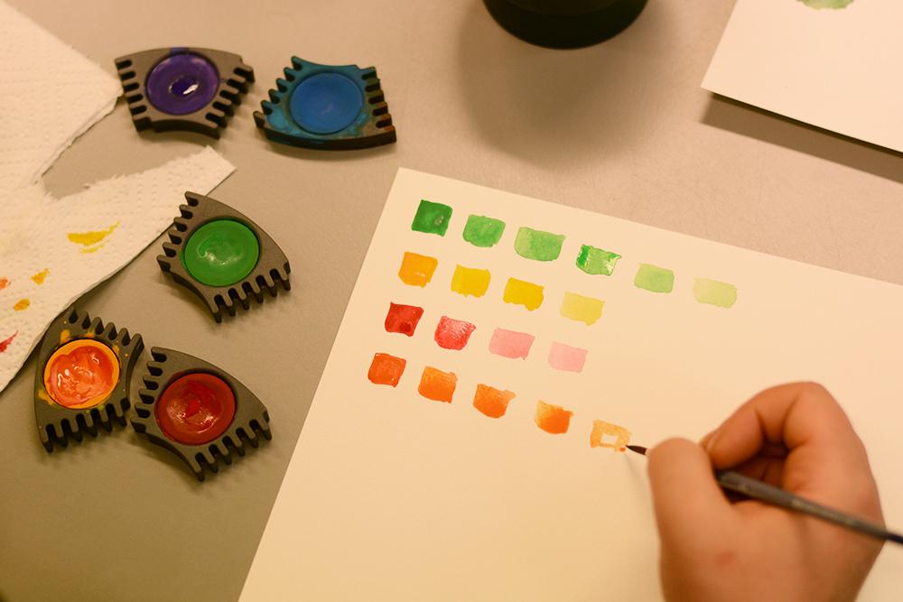 DIY-Workshop: Watercolor Wien | we love handmade