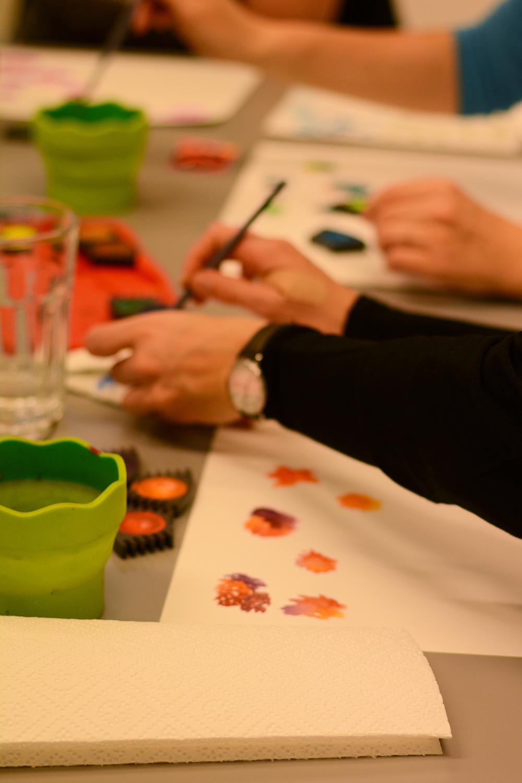 DIY-Workshop Wien: Aquarellmalerei | we love handmade