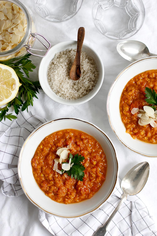 Rezept für eine Detox-Protein-Tomatensuppe | we love handmade