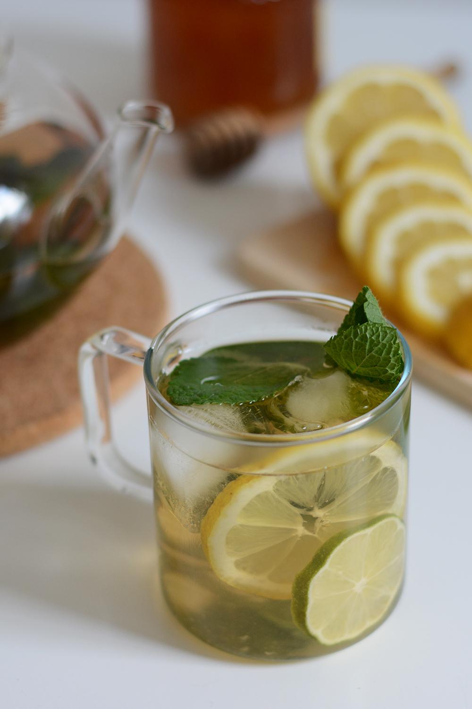 Drink-Rezept: Weißer Minzeistee | we love handmade