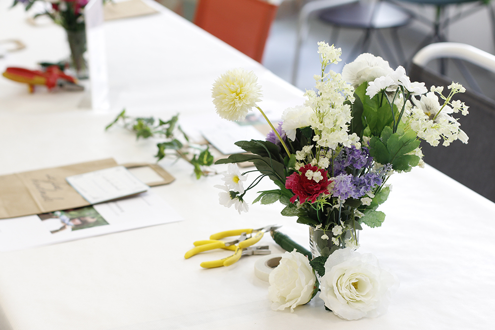 Frühlingsmarkt Blumenkränze-Workshop | we love handmade