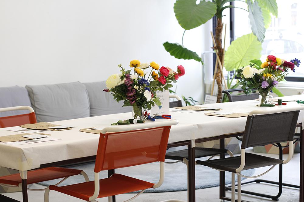 Frühlingsmarkt Blumenkranz-Workshop | we love handmade