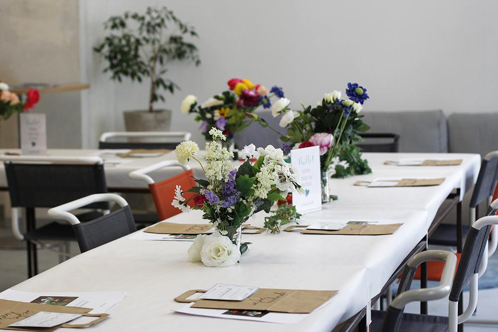 Frühlingsmarkt: Blumenkränze binden | we love handmade