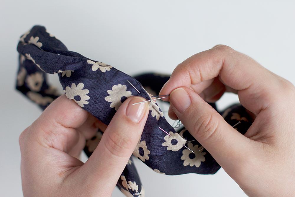 Haarband mit Draht selbermachen | welovehandmade