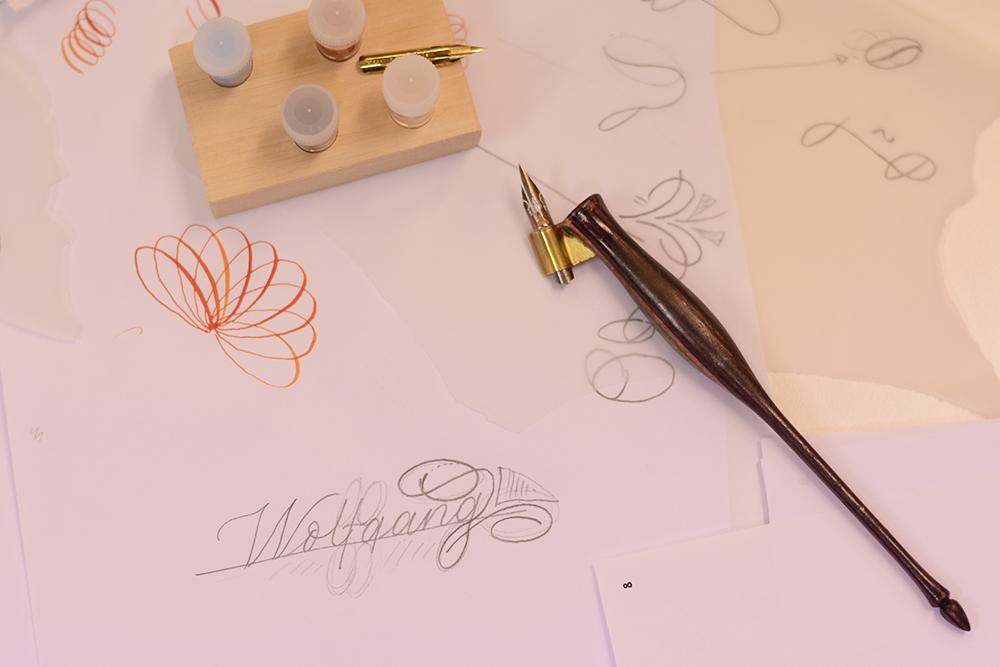 Kalligraphie: Flourishing Tintenfuchs | we love handmade