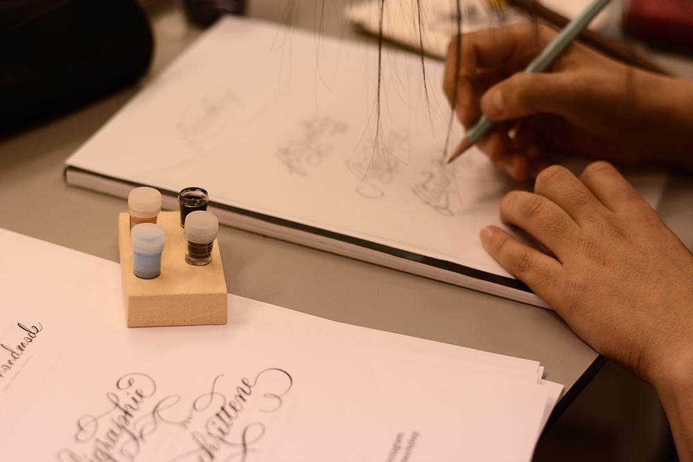 Kalligraphie Fortgeschrittenen-Abendkurs wien | we love handmade