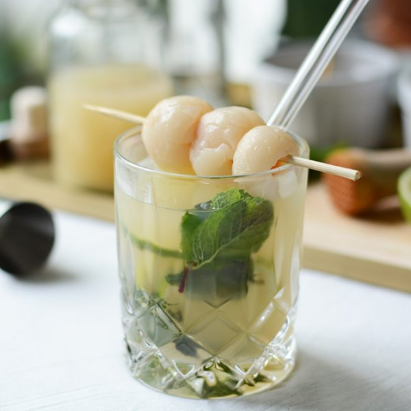 Litschi-Mojito: Drink mixen | we love handmade