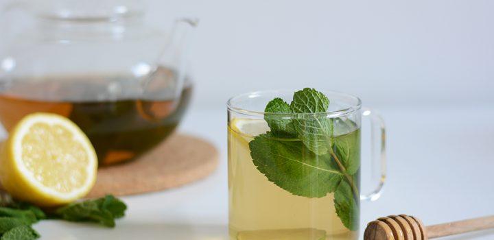 Drink: Weißer Minz-Eistee