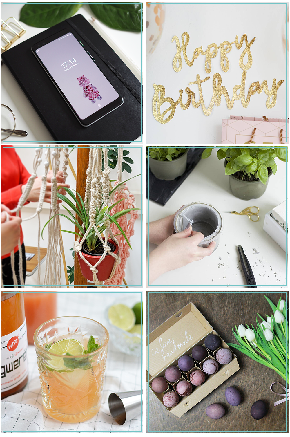 Monatsrückblick: April 2019 | we love handmade