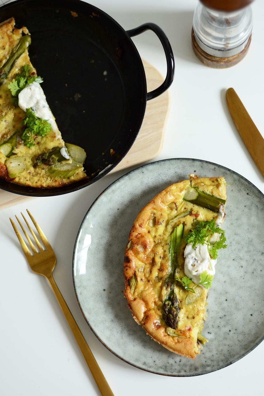 Rezept: Veggie Spargel-Frittata | we love handmade