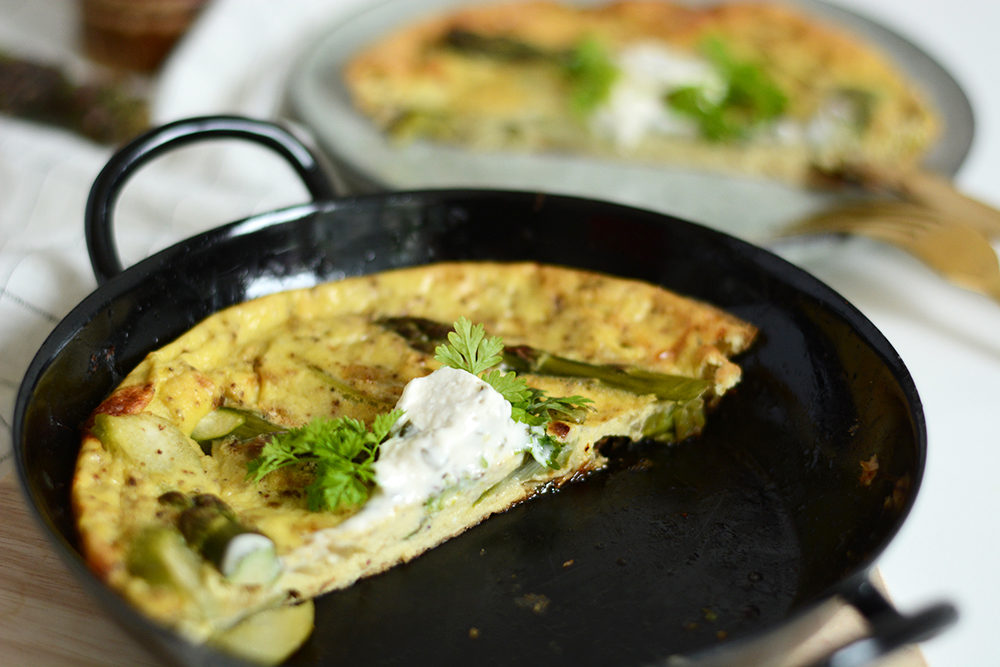 Spargel-Frittata veggie | we love handmade