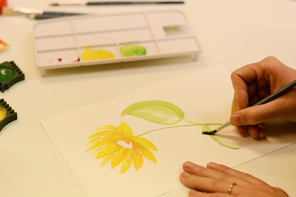 Workshop: Aquarellmalerei | we love handmade