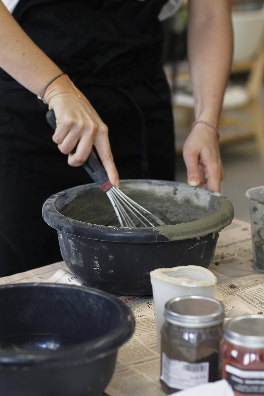 Zement DIY-Workshop am Frühlingsmarkt | we love handmade