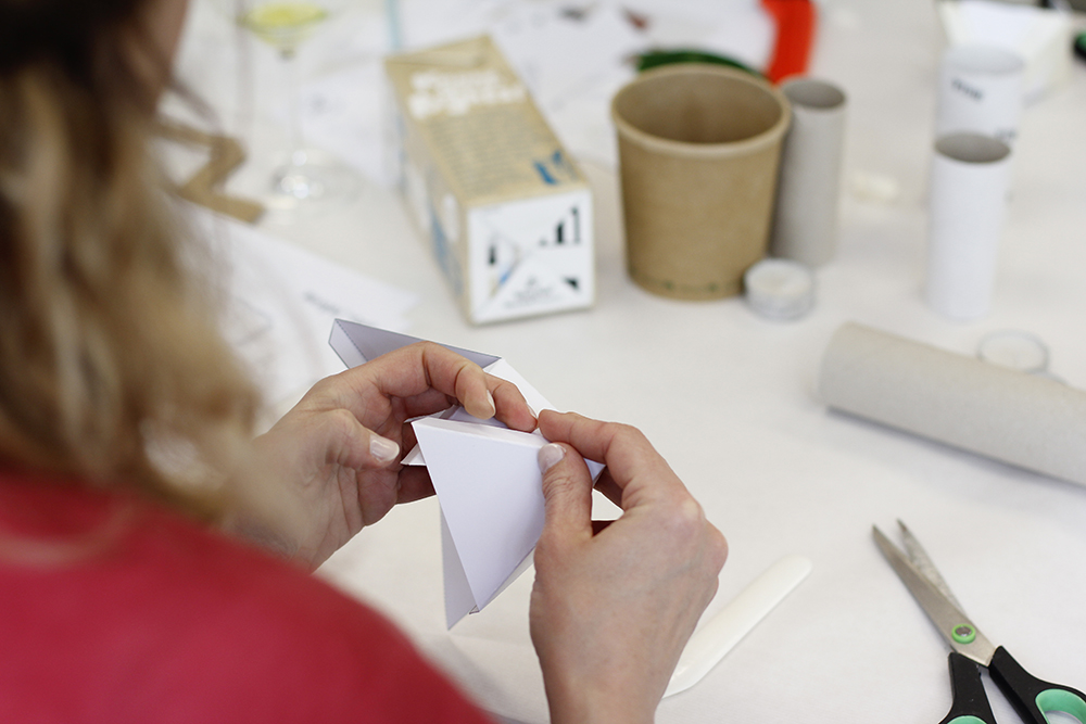 Zement-Vase: Workshop | we love handmade