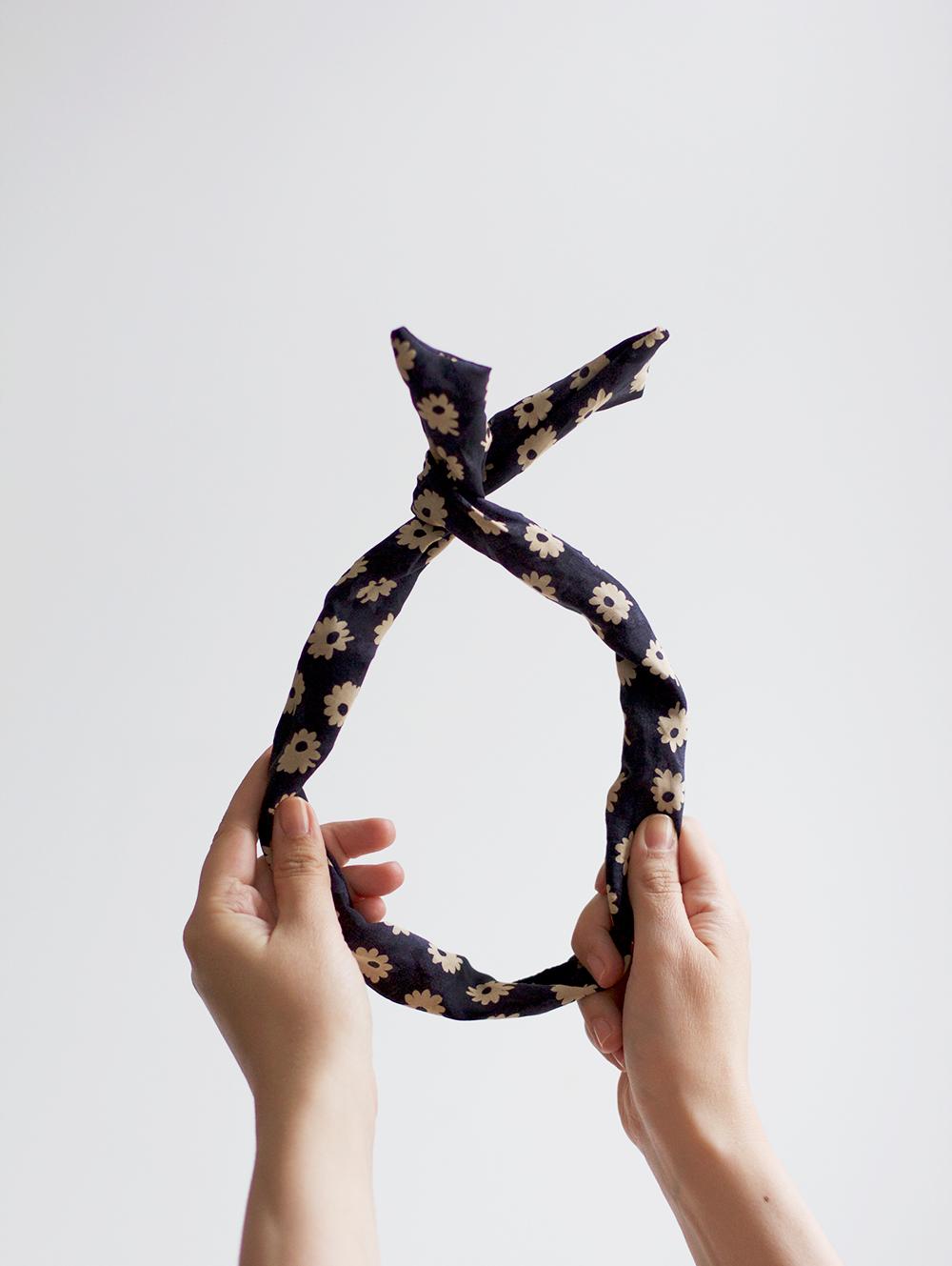 DIY Anleitung für Haarband mit Draht | we love handmade