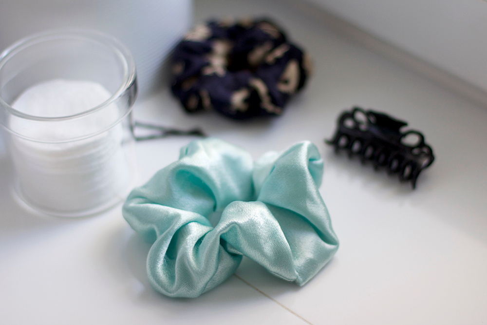DIY: Scrunchie in Mint | we love handmade