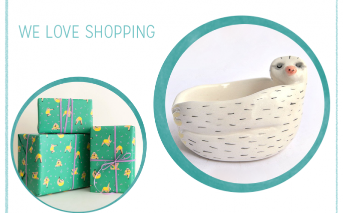 we love Shopping: Faultiere | we love handmade