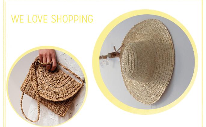 we love shopping: Stroh-Accessoires  we love handmade