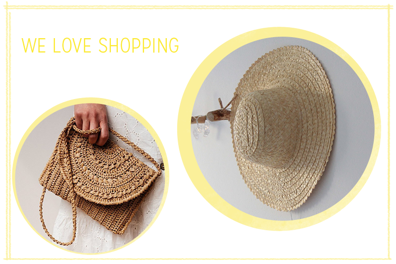 we love shopping: Stroh-Accessoires | we love handmade
