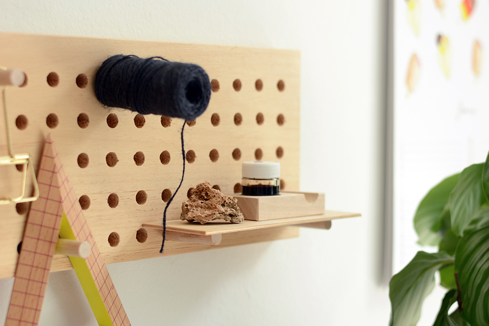 DIY: Pegboard aus Holz | we love handmade
