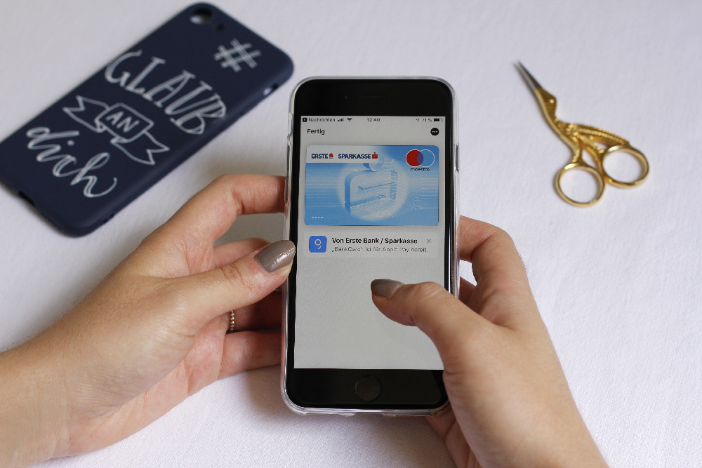 Erste Bank DIY: Apple Pay Info | we love handmade