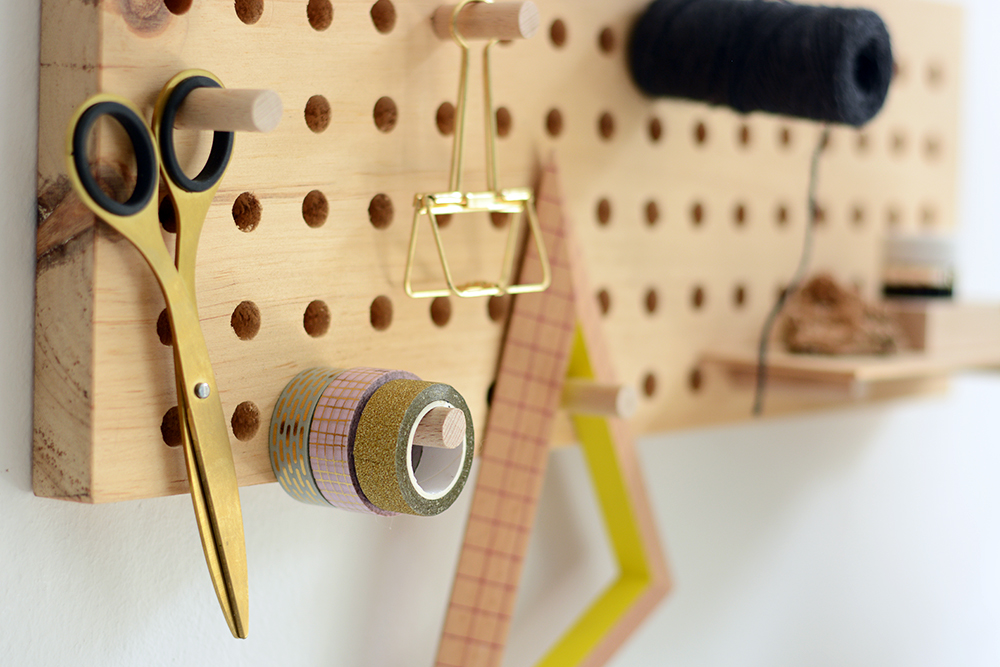 Holz-Pegboard: DIY | we love handmade