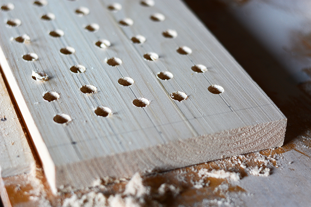 Pegboard Holzlöcher | we love handmade