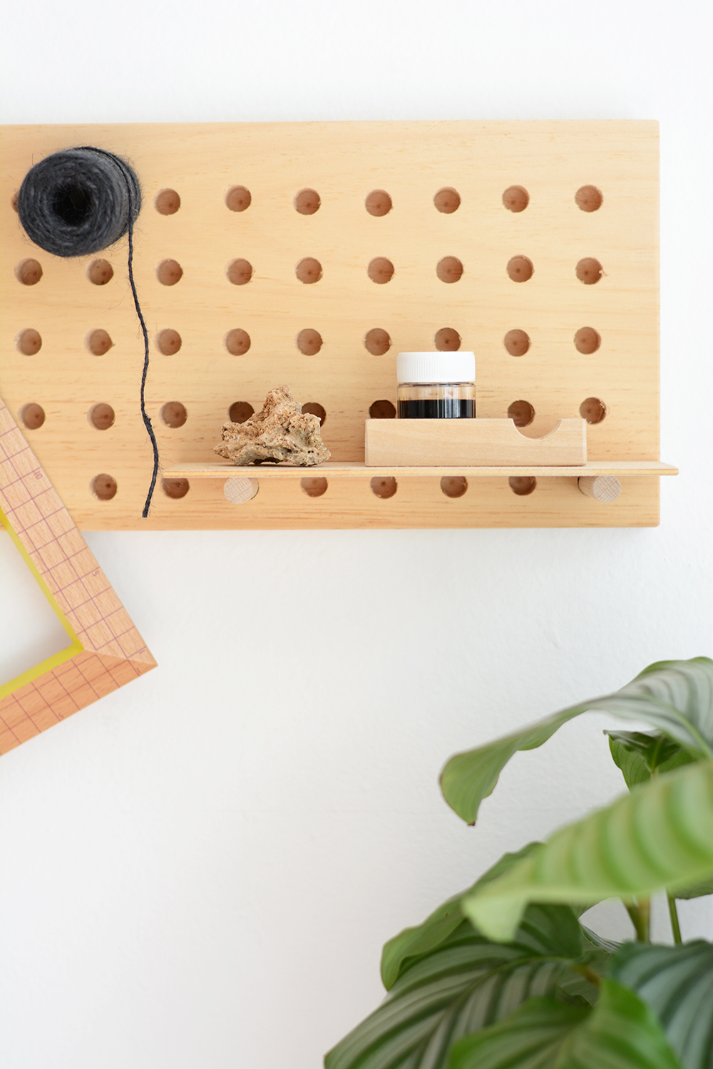 Pegboard fertig | we love handmade