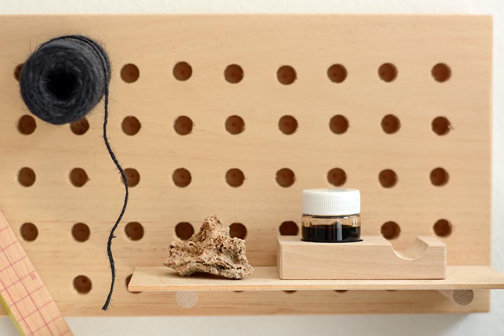Pegboard selbstgemacht | we love handmade