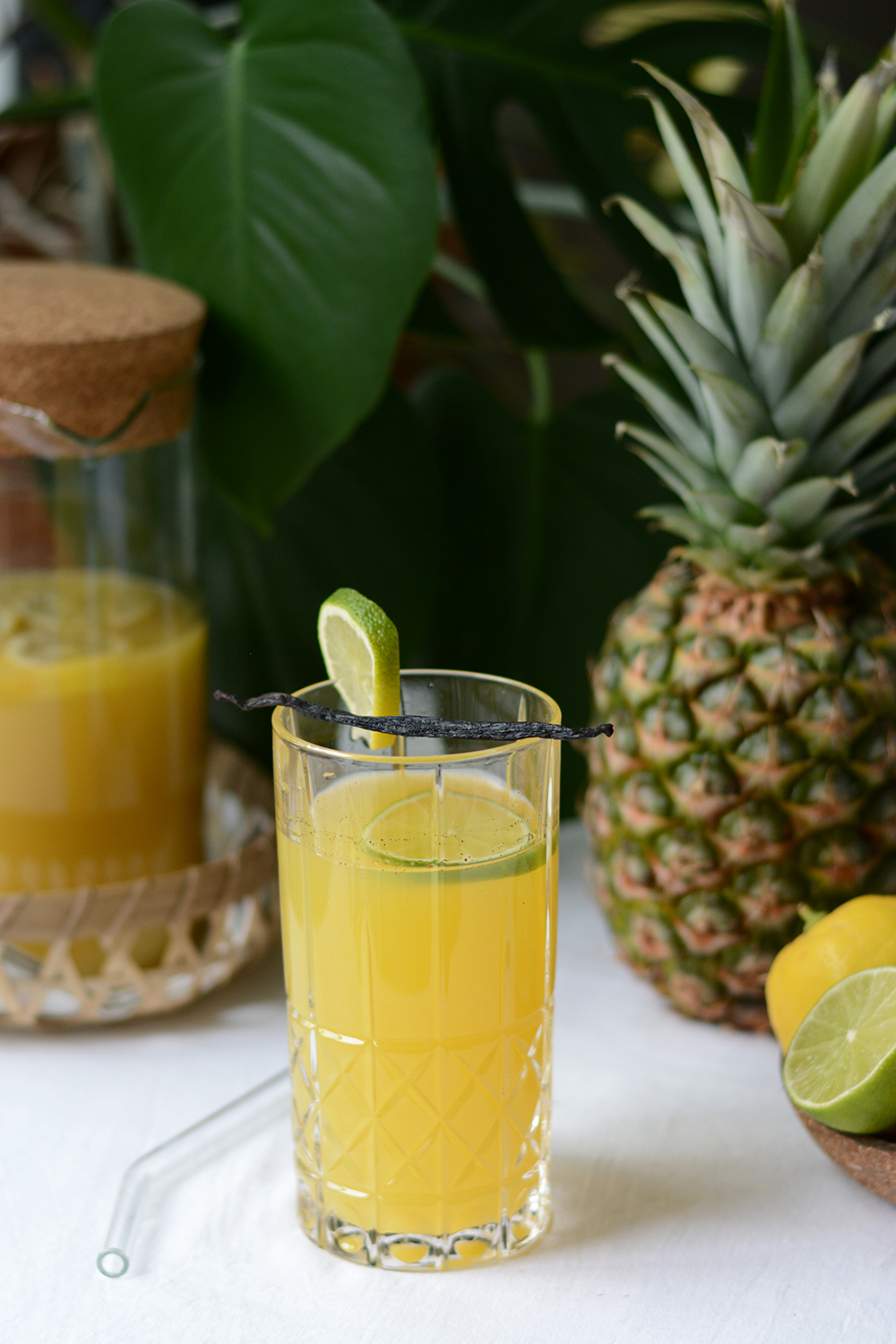 Rezept: Tropical Summer Punch Drink | we love handmade