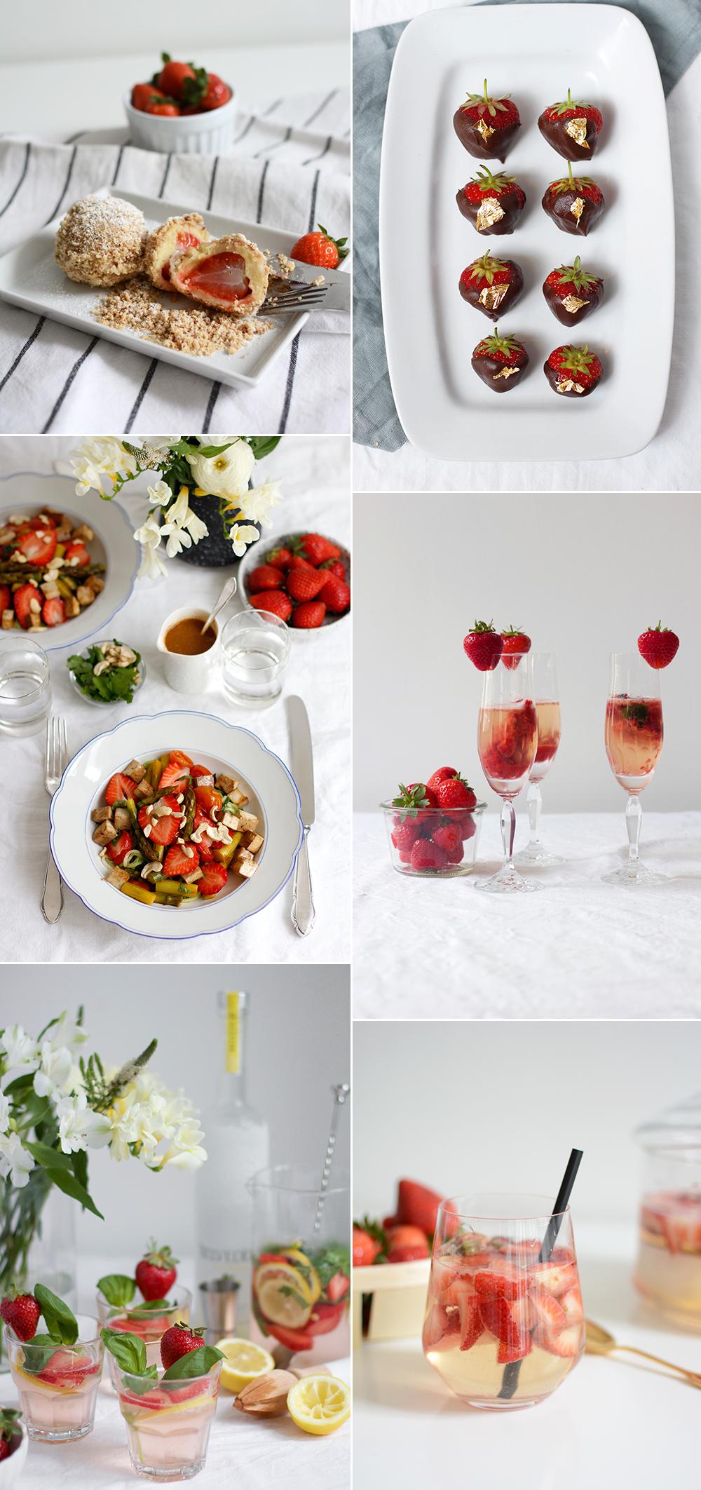 Rezeptideen mit Erdbeeren | we love handmade