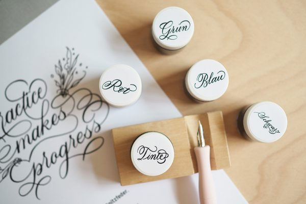 Tintenhalter inkl. Ablage |we love handmade